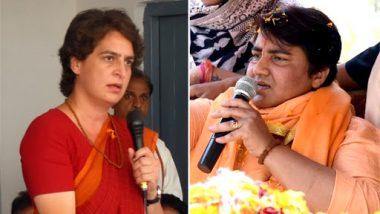 Priyanka Gandhi Lambastes Pragya Singh Thakur on Calling 'Nathuram Godse a Deshbhakt', Asks 'Bapu's Murderer a Patriot?'