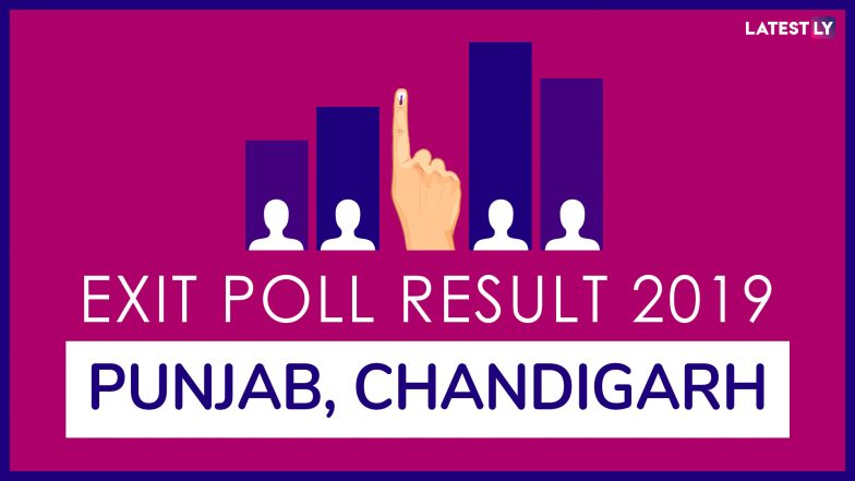 Punjab And Chandigarh Exit Poll Results And Predictions For Lok Sabha Elections 2019: Congress To Win Between 8-9 Constituencies in State, BJP Expected to Win in Union Territory