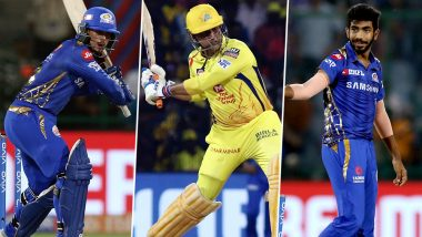 MI vs CSK, IPL 2019 Final, Key Players: Quinton de Kock, MS Dhoni, Jasprit Bumrah And Other Cricketers to Watch Out for at Rajiv Gandhi International Stadium in Hyderabad