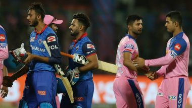 DC vs RR Stat Highlights IPL 2019: Rishabh Pant, Amit Mishra Shine As Delhi Capitals Knock Out Rajasthan Royals