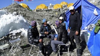 77 Indian Hikers on Their Way to Reach World's Highest Mt Everest Peak