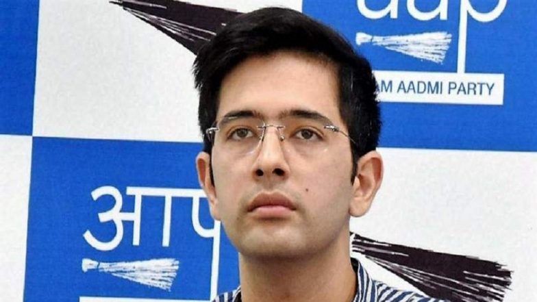 Lok Sabha Elections 2019: AAP Candidate Raghav Chadha Alleges Bogus Voting by BJP Workers in South Delhi, Watch Video