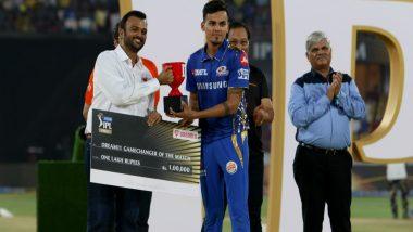 Rahul Chahar is a Fabulous Talent, Says Sachin Tendulkar