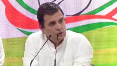 West Bengal Assembly Elections 2021: Rahul Gandhi Suspends All His Political Rallies Due to Massive COVID-19 Surge