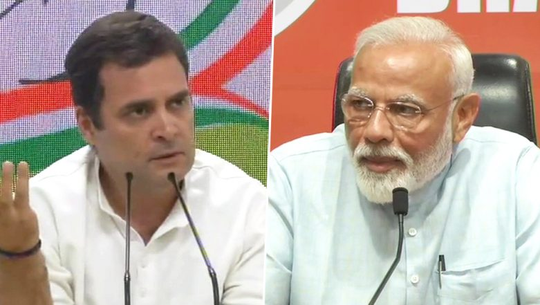 Narendra Modi vs Rahul Gandhi: Battle of Press Conferences Concludes Final Phase Campaigning For Lok Sabha Elections 2019; Watch Videos