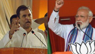 Lok Sabha Elections Results 2019 Predictions by Satta Bazar: Who Will Be The Next Prime Minister? Narendra Modi Vs Rahul Gandhi Race at Matka