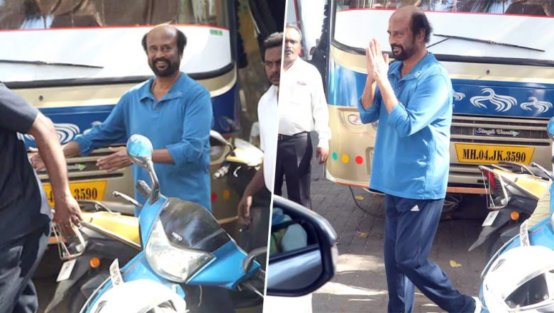 Rajinikanth's Darbar Shoot Put on Hold Due to Stone Pelting on the Sets in Mumbai