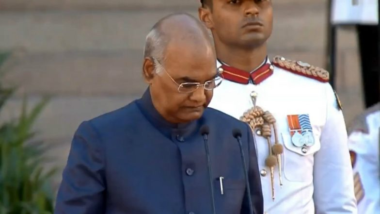 President Ram Nath Kovind Addresses Nation on Republic Day Eve, Tells People to Remain Non-violent When Fighting For a Cause