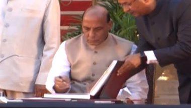 Rajnath Singh Takes Oath As Union Minister in PM Narendra Modi's Cabinet