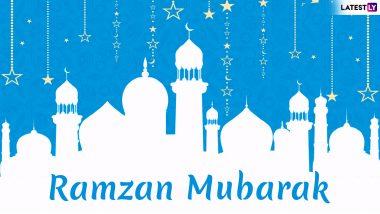 Chand Mubarak Images & Ramadan Kareem Wishes: Urdu Shayari, WhatsApp Stickers, GIF Image Messages, SMS, Quotes to Send Happy Ramzan 2019 Greetings