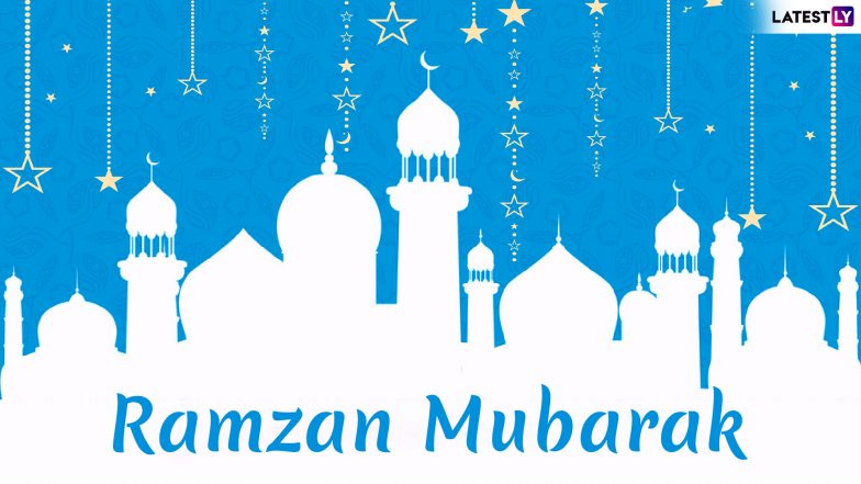 Chand Mubarak Images & Ramadan Kareem Wishes: Urdu Shayari, WhatsApp Stickers, GIF Image Messages, SMS, Quotes to Send Happy Ramzan 2019 Greetings