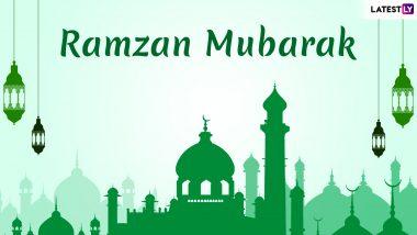 Ramzan Mubarak Shayari 2019: Ramadan Kareem Messages, Image Greetings And Wishes to Send During The Muslim Festive Season