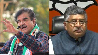 Lok Sabha Elections 2019: Shatrughan Sinha, Ravi Shankar Prasad Clash in Patna Sahib in Phase 7