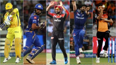 Report Card of Indian Cricketers at IPL 2019: Here's How 15 Players Selected for ICC World Cup 2019 Team Fared in IPL 12