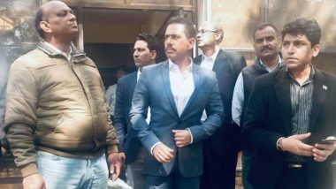 Robert Vadra Says He Has Tumour In Intestine, Seeks Permission to Fly Abroad