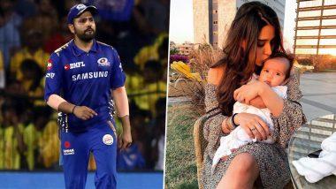 Mumbai Indians Shares Rohit Sharma Cute Family Picture With Wife Ritika Sajdeh and Daughter Samaira Post MI vs KKR Match IPL 2019