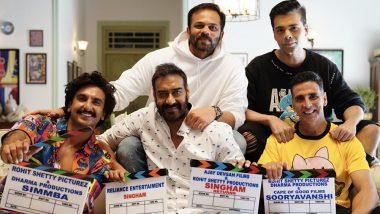 Sooryavanshi: Akshay Kumar's Film Officially Expands Ajay Devgn's Singham and Ranveer Singh's Simmba Universe, View Pic