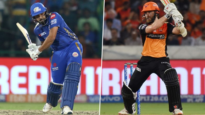 MI vs SRH Head-to-Head Record: Ahead of IPL 2019 Clash, Here Are Match Results of Last 5 Mumbai Indians vs Sunrisers Hyderabad Encounters!