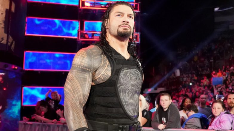 Ahead of WWE Money in the Bank 2019 PPV Where Roman Reigns Will Face Elias, 'The Big Dog' Gets Nominated in MTV Award for Best Real Life Hero (View Pic and Videos)