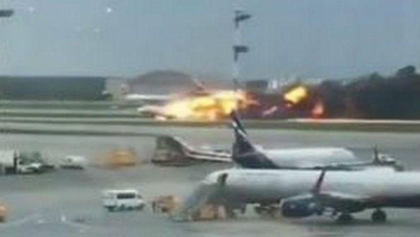 Russian Plane Fire: 41 Killed After Plane Burst Into Flames at Sheremetyevo Airport in Moscow