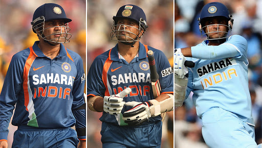 Sachin Tendulkar Opens Again With Virender Sehwag and Sourav Ganguly During IND vs SA, ICC CWC 2019 Match, #SachinOpensAgain Trends on Twitter
