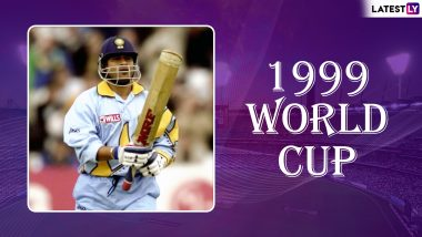 Sachin Tendulkar World Cup Special: Master Blaster Suffers Personal Loss, Returns to Score an Emotional Hundred in 1999 Cricket World Cup; Watch Video