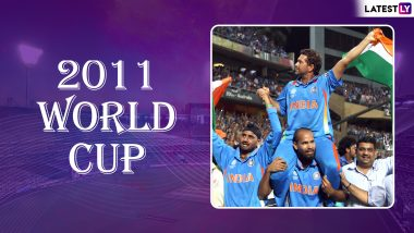 Sachin Tendulkar World Cup Special: A Dream Ending and Fairytale Farewell for 'God of Cricket' as India Lifted ICC Cricket World Cup 2011 Trophy in Mumbai, Watch Videos