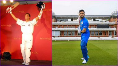 After Sachin Tendulkar, Virat Kohli Becomes Second Indian Cricketer to Have Wax Statue at Madame Tussauds