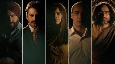 Sacred Games Season 2 Teaser: Saif Ali Khan, Nawazuddin Siddiqui and Pankaj Tripathi Are Back, Along With New Players, Kalki Koechlin and Ranvir Shorey!