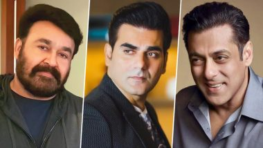 Salman Khan's Brother Arbaaz Signs His First Malayalam Film With Mohanlal