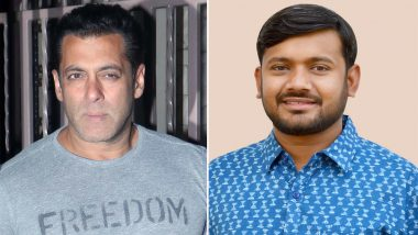 Salman Khan to Play CPI Lok Sabha Candidate Kanhaiya Kumar in a Web-Series? Here's the Truth!