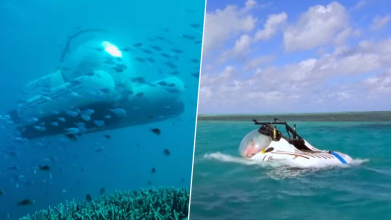 Uber Launches a Submarine For Underwater Tours, You Can Now Explore Australia's Great Barrier Reef With ScUber! (Watch Video)