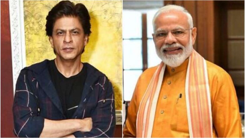 Shah Rukh Khan Congratulates PM Narendra Modi on Big Win in Lok Sabha Polls 2019, Says 'Electoral Mandate And Democracy is a Winner'