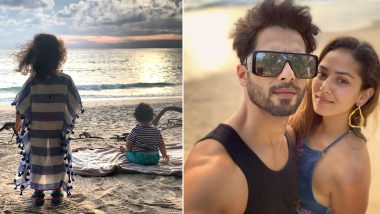Shahid Kapoor and Mira Rajput Share Awwdorable Pics From Their Phuket Trip With Kids Misha, Zain!