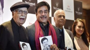 Lok Sabha Elections 2019: Shatrughan Sinha Says LK Advani Was in 'Tears', Didn't Stop Him From Quitting BJP