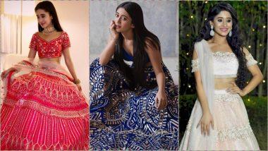 Shivangi Joshi Aka Naira of YRKKH Turns 21: Seven Photos That Prove Birthday Girl Is Queen of Ethnic Wear!