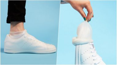 Condoms For Your Feet! Protect Your Favourite Pair of Sneakers with The Shoe Condom
