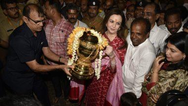 Nita Ambani Thanks Lord Ganesha at Siddhi Vinayak Temple For Mumbai Indians IPL 2019 Final Win