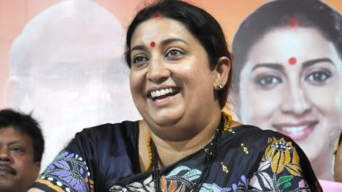 Smriti Irani, on Visit to Amethi, Takes Ailing Woman to Hospital; Meets Alleged Land Grabbing Victim