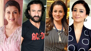 Blackbuck Poaching Case: Saif Ali Khan, Sonali Bendre, Neelam Kothari, Tabu Issued Fresh Notice by Rajasthan HC Over Their Acquittal