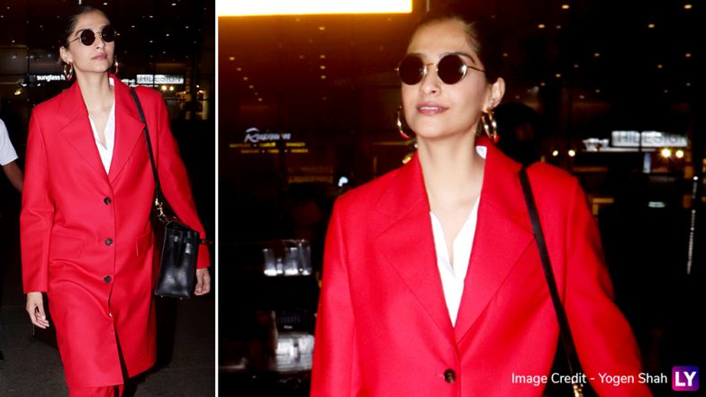 Sonam Kapoor and Anil Kapoor Are All Smiles in Their Latest Airport Pics, Are They Set For Cannes 2019?