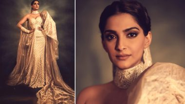Cannes 2019: Sonam Kapoor Ahuja Dons Her Favourite Abu Jani Sandeep Khosla Couture for Chopard Party and Its Regal! See Pics