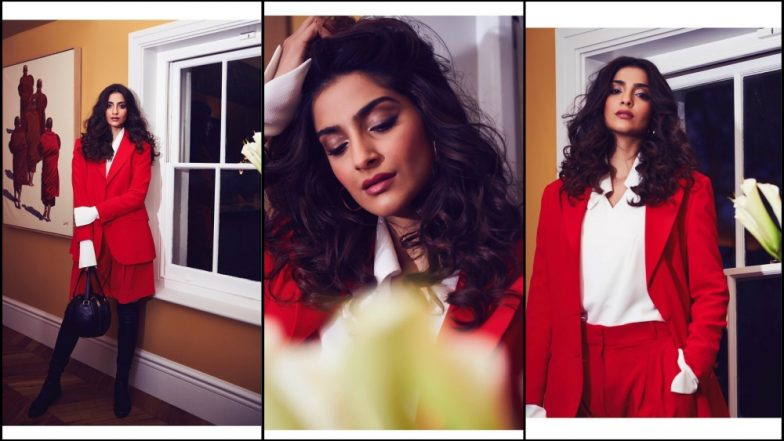 Cannes Is Over But Sonam Kapoor Continues to Look 'Red' Hot in Her Glamorous Pictures