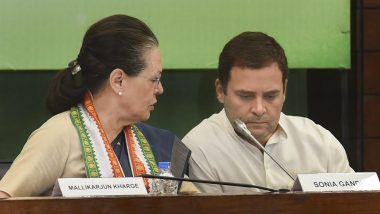 Sonia Gandhi And Rahul Gandhi Flay Modi Government For Economic Crisis, Say BJP Indulging in Vendetta Politics And Pushing 'Foolish' Theories About Millennials