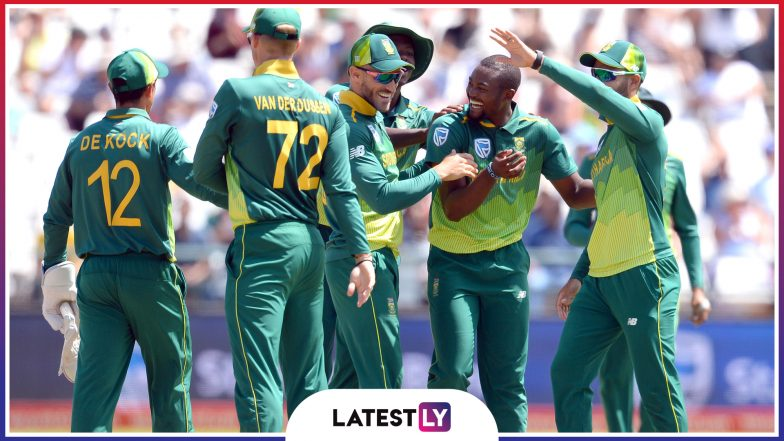 Schedule Of Team South Africa At Icc Cricket World Cup 2019