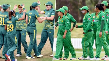 Live Cricket Streaming of South Africa Women vs Pakistan Women 2019: Check Live Cricket Score, Watch Free Telecast of SA-W vs PAK-W 5th T20I on TV and Online