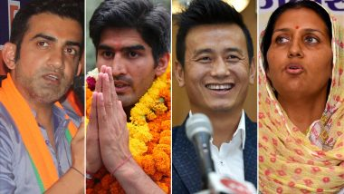 Lok Sabha Elections 2019 Results Tomorrow; Will Sportspersons Gautam Gambhir, Vijender Singh And Others Become New MPs and MLA?