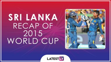 Ahead of ICC Cricket World Cup 2019, Here's a Look Back at How Sri Lanka Fared at the Last Edition of the CWC