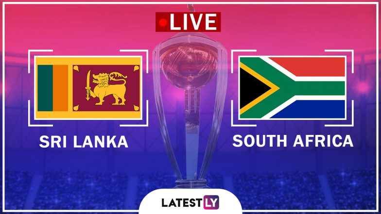 Live Cricket Streaming of Sri Lanka vs South Africa ICC World Cup 2019 Warm-up Match: Check Live Cricket Score, Watch Free Telecast of SL vs SA Practice Game on Star Sports & Hotstar Online