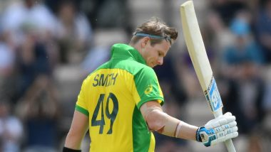 Steve Smith Falls Two Runs Short Off his Century as Kuldeep Yadav Accounts for him During India vs Australia 2nd ODI 2020 in Rajkot